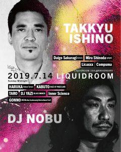 TAKKYU ISHINO / DJ NOBU