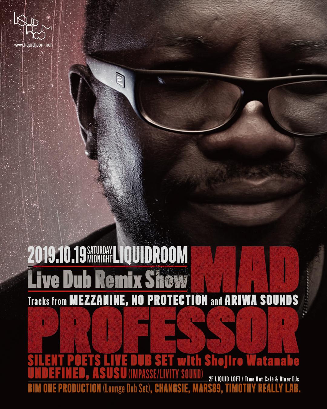 MAD PROFESSOR<br/>Live Dub Remix Show