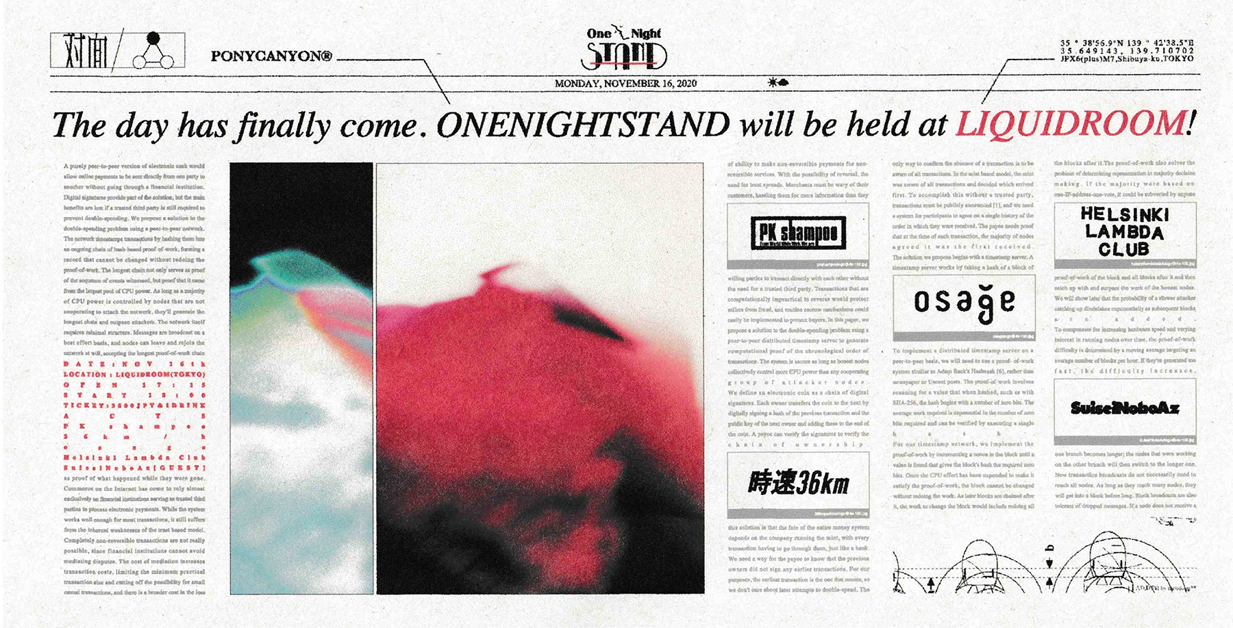 One Night STAND -SET IN-