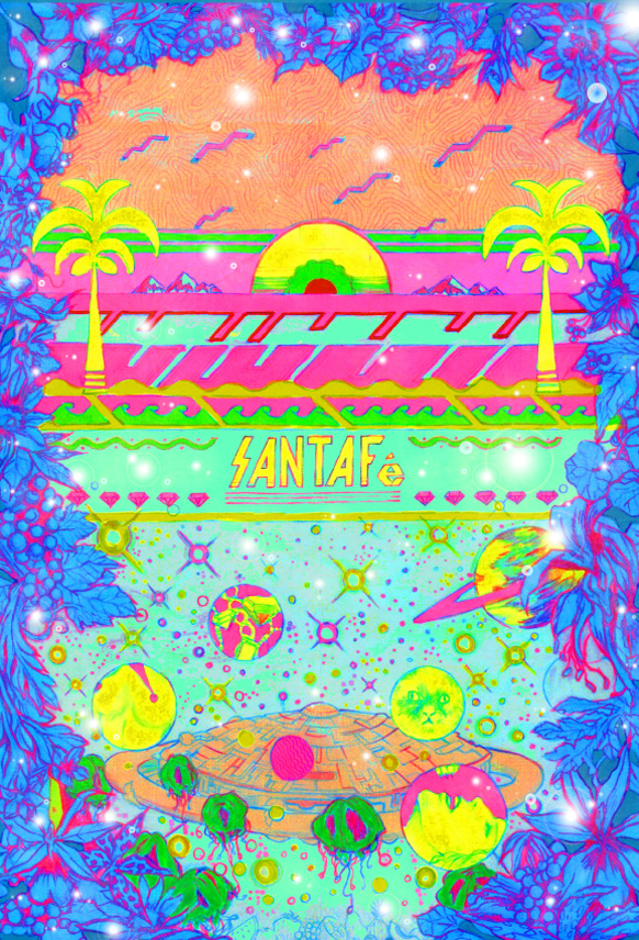 MAGNETIC LUV PRESENTS -Santa Fe- WITH KAMOME SOUND SYSTEM