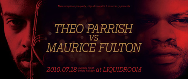 THEO PARRISH vs MAURICE FULTON
