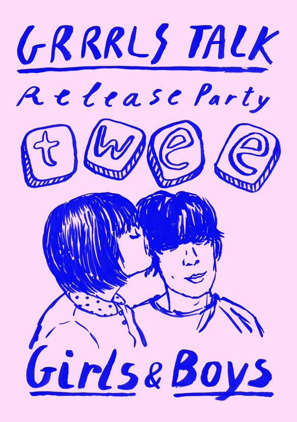"""Twee Grrrls Club + enjoy? 100music presents Twee Grrrls Club """"Grrrls Talk"""" Release party >> Twee Boys Club!"""
