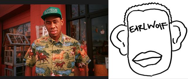 Tyler, The Creator with Earl Sweatshirt