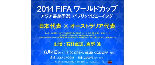 2014 FIFA ワールドカップ アジア最終予選 パブリックビューイング