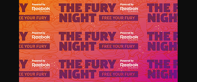 THE FURY NIGHT Powered by Reebok CLASSIC