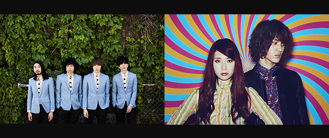 THE BAWDIES / GLIM SPANKY
