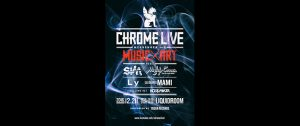 """CHROME LIVE """"MESSENGER"""" vol.2 supported by TOWER RECORDS"""